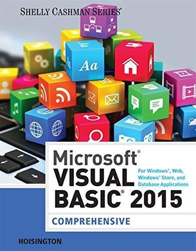 Isbn 9781285856896 microsoft visual basic for windows web office isbn 9781285856896 fandeluxe Gallery