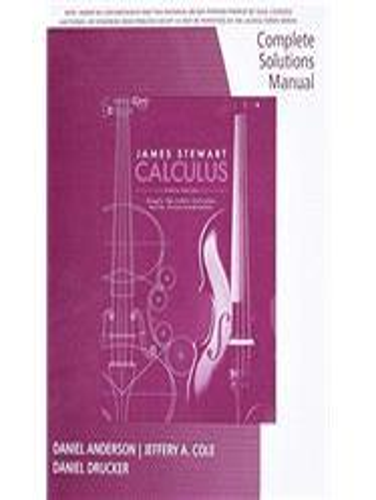 stewart calculus solution 8th
