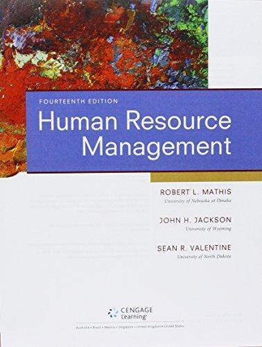 Isbn 9781305432291 bundle human resource management 14th lms isbn 9781305432291 fandeluxe Gallery