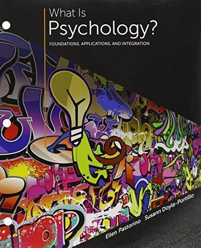 Bundle: What Is Psychology