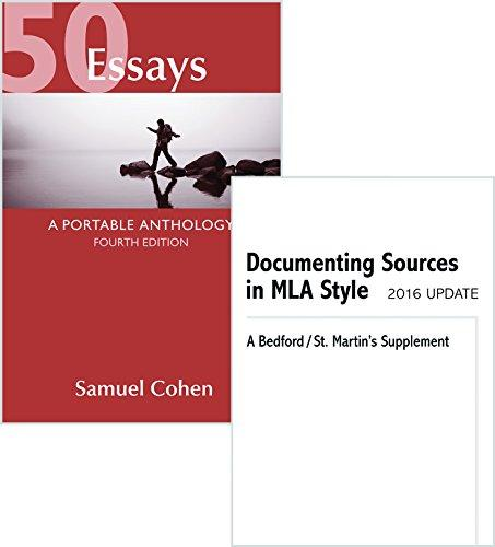 50 essays portable anthology