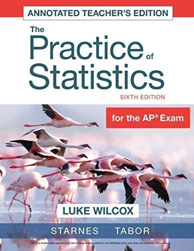 Practice Statistics By Starnes Direct Textbook