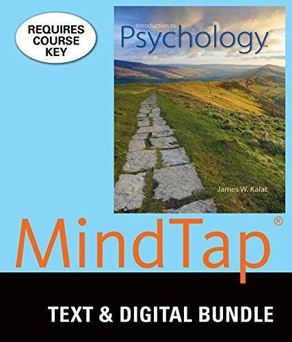Bundle: Introduction To Psychology