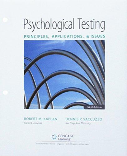 Bundle: Psychological Testing