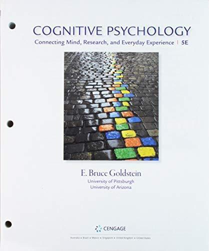 Bundle: Cognitive Psychology