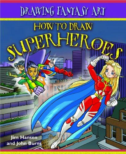 how to draw comic book superheroes