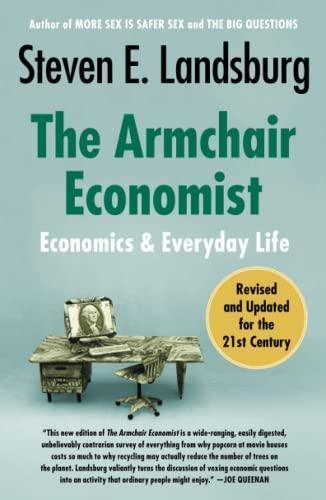 Isbn 9781451651737 The Armchair Economist Economics