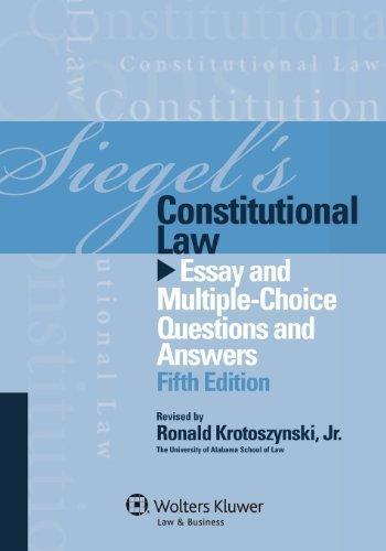 Constitutional law essay