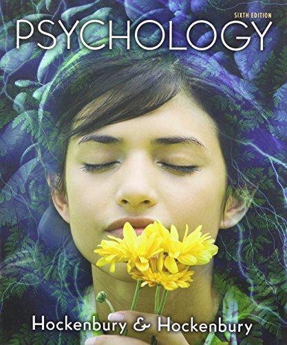 hockenbury discovering psychology 7th edition