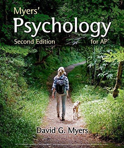 Ap Psychology Textbook Pdf Myers 2nd Edition