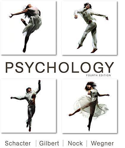 psychology schacter gilbert wegner 3rd edition pdf