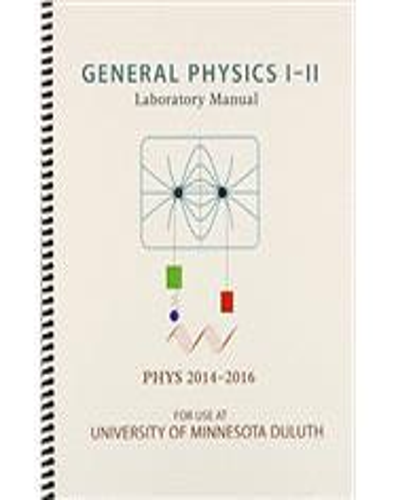 General Physics 1 Laboratory Manual