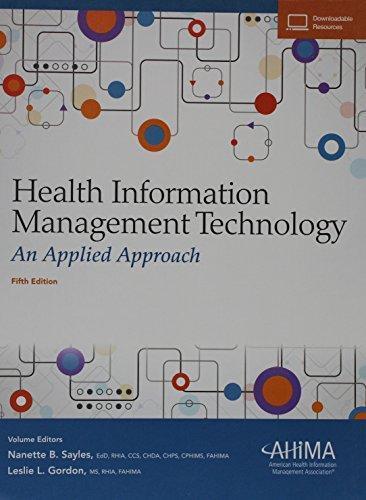 Use Of Technology Management: Health Information Management