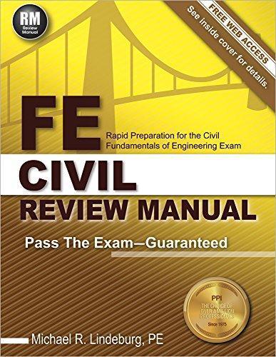 Fe Civil Review Manual Manual Guide