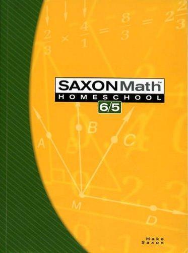 Saxon Math 8/7 Homeschool solution manual 2005 printing