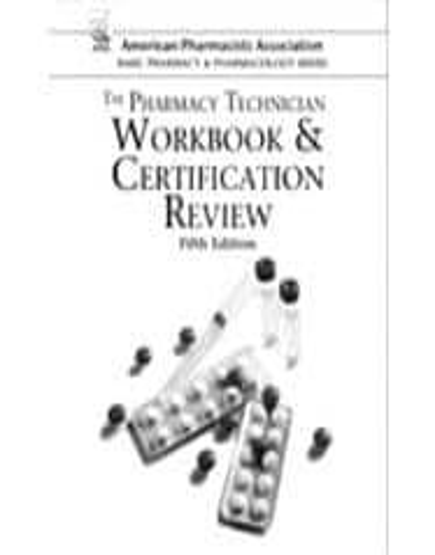pharmacy technician exam review pdf