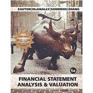 financial statement analysis and valuation 5th edition pdf easton