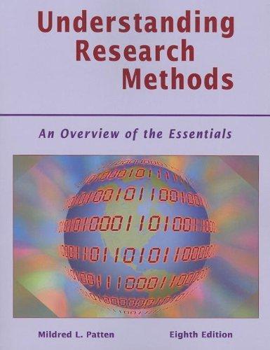 Understanding research methods patten