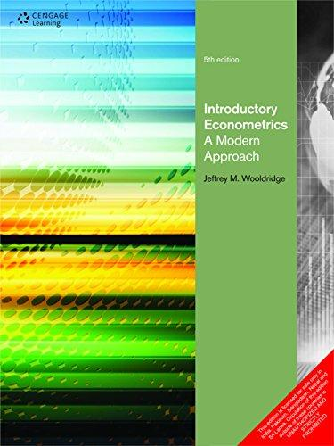 introductory econometrics a modern approach 5th edition solutions pdf