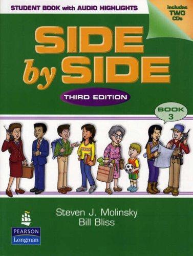 Side by Side by Steven J. Molinsky and Bill Bliss (2003, CD / Paperback,...