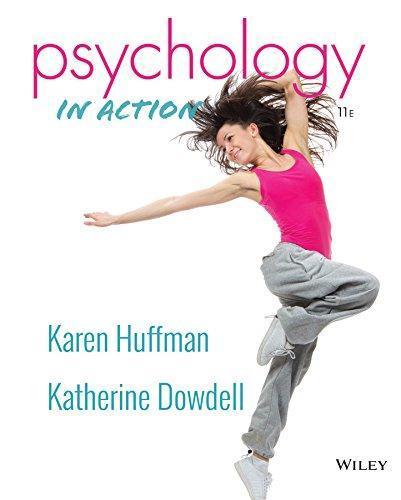 Psychology In Action, 11e Binder