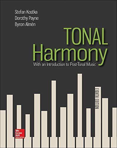 ISBN 9781259447099 - Tonal Harmony : With an Introduction ...
