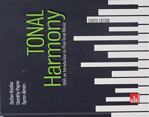 ISBN 9781260198331 - Gen Combo Tonal Harmony; Workbook ...
