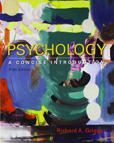 Psychology A Concise Intro 5e + LP