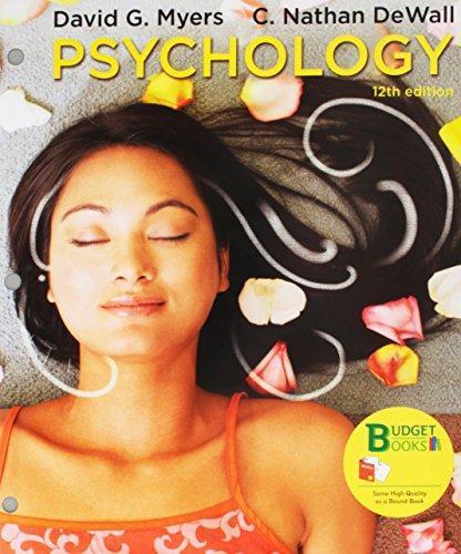 Loose-Leaf Version For Psychology And