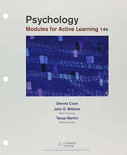Bundle: Psychology: Modules For